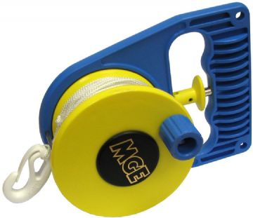 MGE - Ratchet Reel - Left or Right Hand use - Lightweight and Durable - Diving